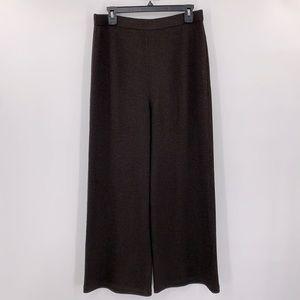 St. John Brown Knit Pants Sz 10